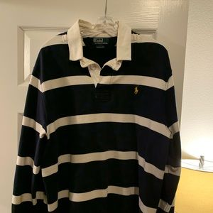 Men's Polo Rugby Long Sleeve Size XL